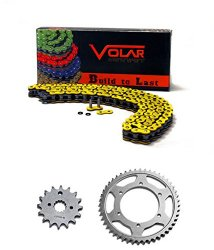 2001-2003 Suzuki RM250 Chain and Sprocket Kit – Heavy Duty – Yellow