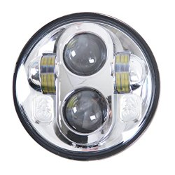 5-3/4″ 5.6 inch Harley Davidson Daymaker Projector LED Headlight Lamp Bulb Chrome