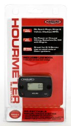 Hardline Products HR-8067-2 Re-Settable Hour Meter with Tachometer