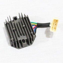 Holdwell Voltage Regulator Rectifier for Kubota 15531-64603 RP201-53710 UTV RTV500