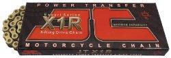 JT Sprockets (JTC525X1RGB110RL) Gold/Black 110-Link 525 X1R Heavy Duty X-Ring Drive Chain