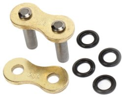 JT Sprockets (JTC530X1RGBRL) Gold 530X1R Rivet Type Connecting-Link