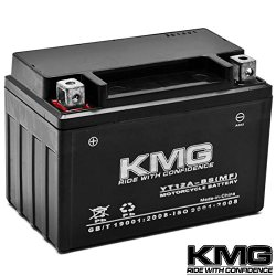 KMG® YT12A-BS Sealed Maintenace Free Battery High Performance 12V SMF OEM Replacement Maintenance Free Powersport Motorcycle ATV Scooter