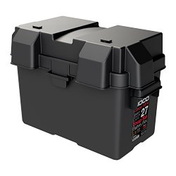 NOCO HM327BKS Group 27 Snap-Top Battery Box for Automotive, Marine, and RV Batteries