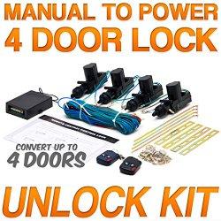 Power Car Door Lock / Unlock Kit Keyless Remote For Chevy Astro Avalanche Aveo Bel Air Blazer Suburban