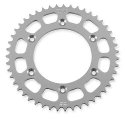 Sunstar Aluminum Rear Sprocket – 40T , Sprocket Teeth: 40, Color: Natural, Sprocket Position: Rear, Sprocket Size: 520, Material: Aluminum 5-367940