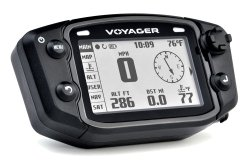 Trail Tech 912-300 Voyager Stealth Black Moto-GPS Computer