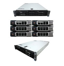 High-End Virtualization Server 12-Core 128GB RAM 12TB RAID Dell PowerEdge R710 (Certified Refurbished)