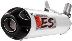 Big Gun Eco System Slip-On , Color: Brushed, Material: Aluminum 07-1122