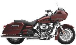 Cobra Powerport Chrome Head Pipes for 2010-2011 Harley Davidson Touring Models