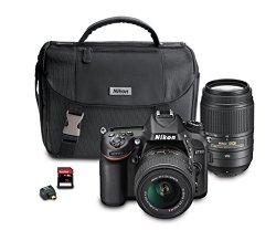 Nikon D7100 DX-Format Digital SLR Camera Bundle with 18-55mm and 55-300mm VR NIKKOR Zoom Lenses