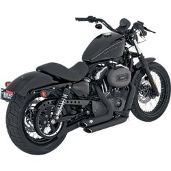 Vance and Hines Shortshots Staggered Full System Exhaust for Harley Davidson 20 – One Size