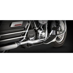 Vance & Hines 16799 Chrome Dresser Duals Head Pipes for Harley-Davidson Touring 1995-08 (1802-0204)