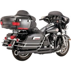 Vance & Hines Pro Pipe Black Exhaust System , Color: Black 47557