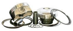 Wiseco K1668 3.528″ Bore 10:1 Compression Ratio Domed Forged Piston Kit