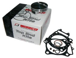 Wiseco PK1659 90.00 mm 12.2:1 Compression Motorcycle Piston Kit with Top-End Gasket Kit