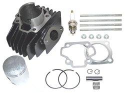 Yamaha PW 50 Big Bore Kit Top End Set 60cc Piston Cylinder Rings 1981 – 2009 NEW