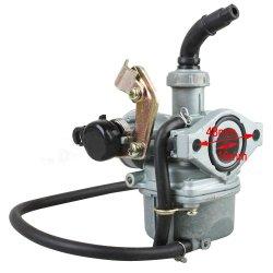 19mm Carburetor w/Cable Choke for 50 cc 70CC 90 cc 110cc 4-stroke ATVs Go Karts Carb Quad 4 Wheeler Dune Buggys Taotao SunL Coolster