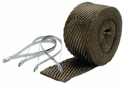 DEI 010123 Titanium Pipe Wrap and Locking Tie Kit