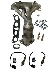 Fits Nissan Altima 2.5L Exhaust Manifold Catalytic Converter with Oxygen Sensors