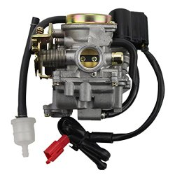 GOOFIT Carburetor for Scooter Carb GY6 50cc 60cc 80cc Chinese 139qmb Moped 49cc 60cc