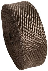Heatshield Products 372005 2″ Wide x 15′ Lava Header and Exhaust Insulating Heat Wrap Roll