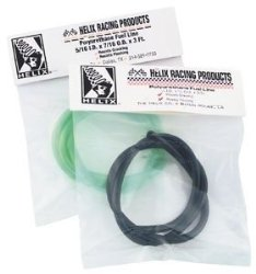Helix Racing Products Colored Fuel Line – 1/4in. x 3/8in. 3ft. – Clear 140-3806