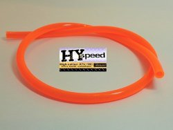 HYspeed PVC Fuel Gas Line 1/4″ ID X 3/8″ OD 3′ Fluorescent Orange ATV Motorcycle