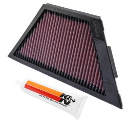 Kawasaki ZG1400 Concours 14 2008-12 K&N High Performance OEM Replacement Air Filter