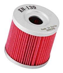 K&N KN-139 Powersports High Performance Oil Filter