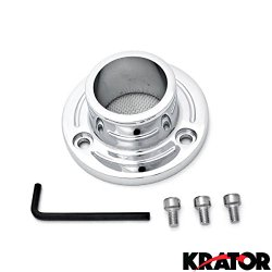 Krator® 2005-2007 Yamaha TT-R230 Dirt Bike Exhaust Tip Muffler Power Outlet Polished Chrome