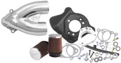 S&S Cycle Tuned Induction Kit – Chrome 170-0085