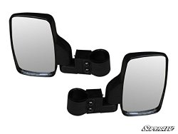 (2) Mirrors!! SuperATV UTV Side Mirrors RZR, Ranger, Rhino, Teryx 4