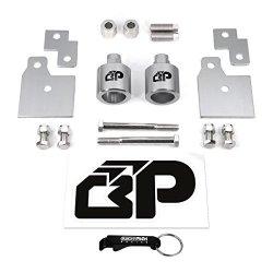 BlackPath – Polaris 2″ Lift Kit Sportsman 500 + 600 + 700 + 800 ATV Suspension Lift (Silver) T6 Billet