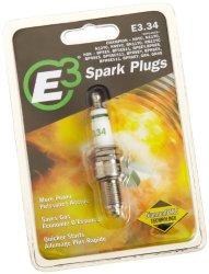 E3 Spark Plugs E3.34 Powersport Spark Plug, Pack of 1