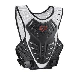 FOX TITAN RACE SUBFRAME ROSST DEFLECTOR BLACK/SILVER LG/XL
