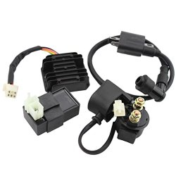 GOOFIT Ignition Coil CDI Regulator Rectifier Relay Kit for 150cc 200cc 250cc Chinese ATV