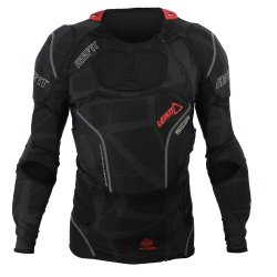 Leatt 3DF AirFit Body Protector (Black, XX-Large)