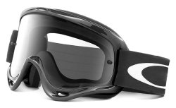 Oakley XS O-Frame MX Goggles (Jet Black Frame/Clear Lens, One Size)