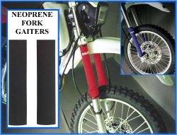 Proline Neoprene Fork Leg Gaiters , 30Mm Diameter X 240Mm Length , Color Black