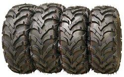 Set of 4 New ATV/UTV Tires 25×8-12 Front & 25×10-12 Rear /6PR P341 -10157/10159
