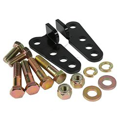 """TCMT 1″-3″Rear Adjustable Lowering Kit For Harley Road King, with """"HARD BAGS"""" only.2002 2003 2004 2005 2006 2007 2008 2009 2010 2011 2012"""