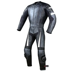 2PC HUMP MOTORCYCLE 2 PC LEATHER RACING SUIT ARMOR GM 42