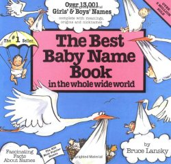 Best Baby Name Book In The Whole World