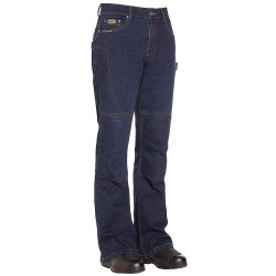 BILT IRON WORKERS Women's Iron Motorcycle Jeans – 10, Deep Blue