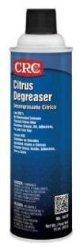 CRC Heavy Duty Citrus Liquid Degreaser, 15 oz Aerosol Can, Clear/White