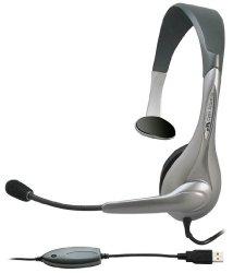 Cyber Acoustics Internet Communication USB Mono Headset (AC-840)