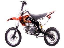 Dirt bike 125cc Manual Clutch, Red