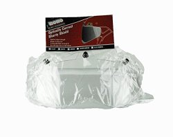 Echo Shorty 3 Snap Shield for Motorcycle Helmet (Clear)