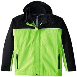 Frogg Toggs Highway Jacket, Safety Green/Black, Small